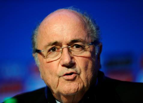 Missing the spotlight: Former Fifa president Sepp Blatter