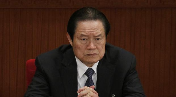 Zhou Yongkang has been jailed for life. (AP)