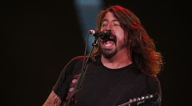 Dave Grohl told the crowd