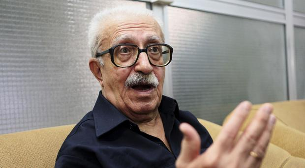 Tariq Aziz, Saddam Hussein's long time foreign minister, is to be buried in Jordan (AP Photo/Hadi Mizban, File)