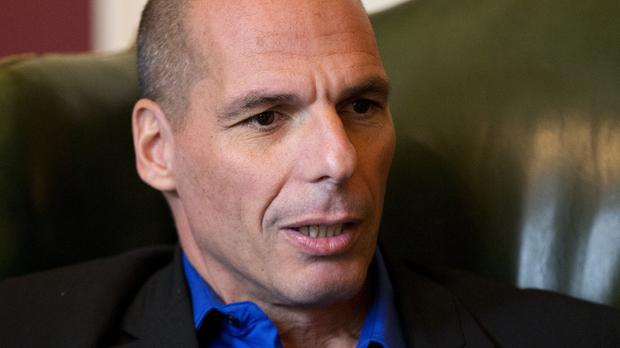Economics professor Yanis Varoufakis points to tax cuts for the wealthy and service cuts for others