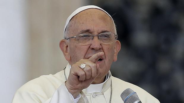 Pope Francis's first solo encyclical is expected to urge people to pay attention to environmental degradation (AP)