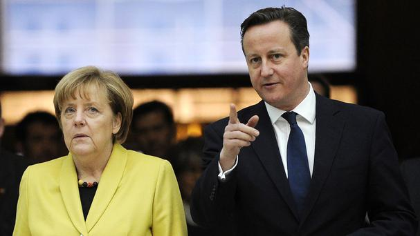 Angela Merkel says Britain is a key ally in the European Union