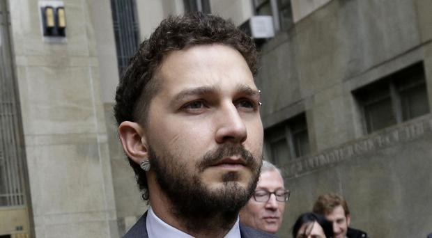Actor Shia LaBeouf needed stitches after an accident on the set of the film American Honey (AP Photo/Mary Altaffer, File )