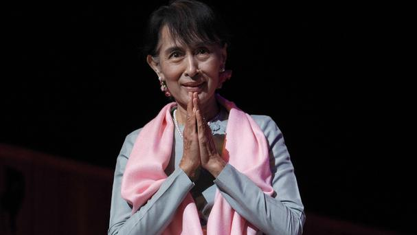 The vote means Aung San Suu Kyi cannot become president in an election this year
