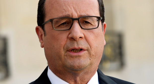 Anger: Francois Hollande