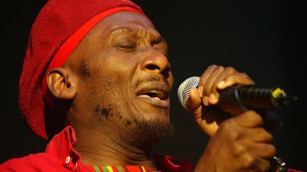 Jamaican reggae star Jimmy Cliff performs at the Brixton Academy, south London