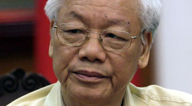 Nguyen Phu Trong says he expects Barack Obama to visit Vietnam later this year (AP)