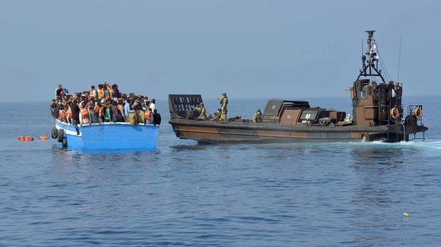 Europe is trying to deal with smugglers' boats bringing migrants across the Mediterranean
