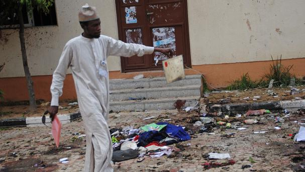 There have been a string of deadly bombing and shooting attacks by the Boko Haram Islamic extremist group in Nigeria (AP)
