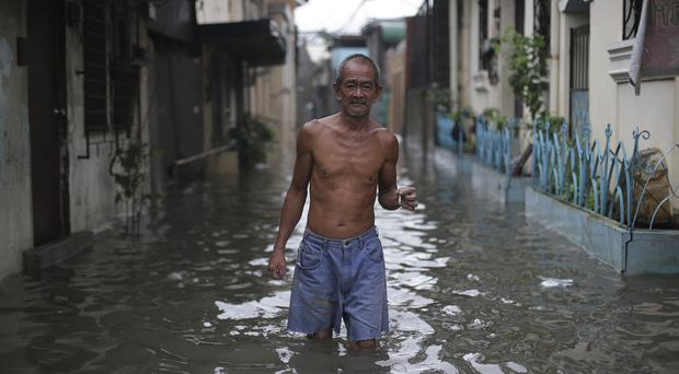 Typhoon Chan-hom has already battered the Philippines. (AP)