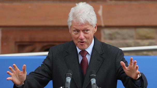 Bill Clinton authorised strikes against Serbia at the time of the conflict