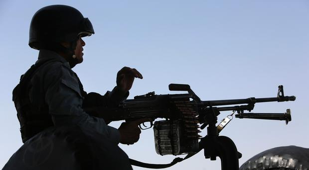 The Afghan government claims the air strikes have hit the leadership of the country's IS affiliate (AP)