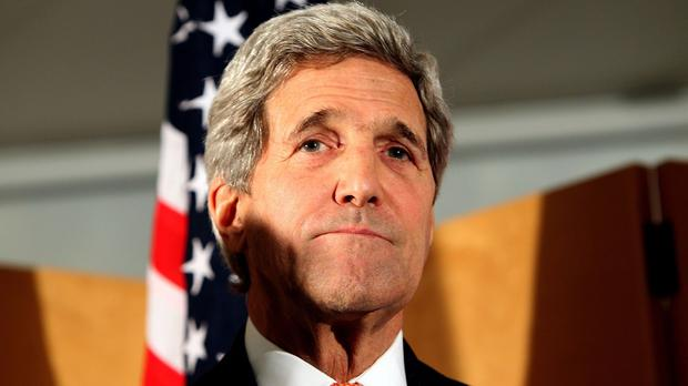 US Secretary of State John Kerry said