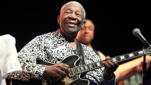 Bluesman BB King died of natural causes, a coroner has said (Invision/AP)
