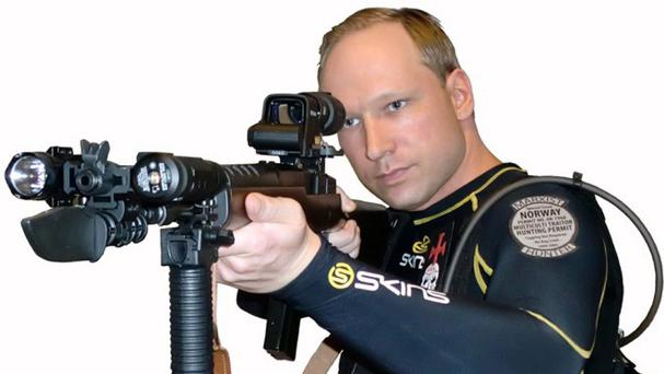 Anders Breivik is serving a 21-year sentence for killing 77 people in 2011