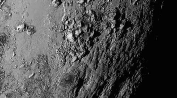 Images of Pluto have been obtained by the New Horizons spacecraft (Nasa)