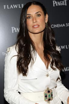 Home tragedy: Demi Moore