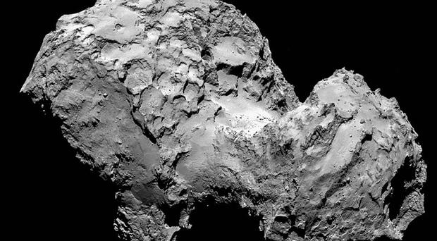 Philae landed on the comet 67P/Churyumov-Gerasimenko last year (European Space Agency/PA Wire)