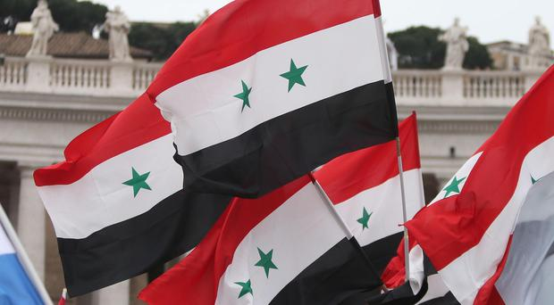 The strikes targeted the Syrian town of Manbej in Aleppo province
