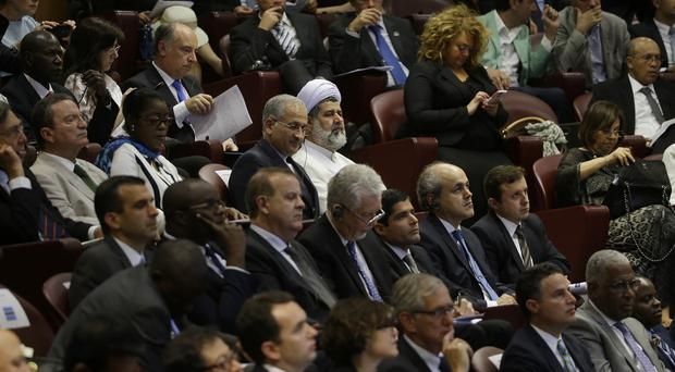 Mayors from across the world are joining the climate conference at the Vatican (AP)