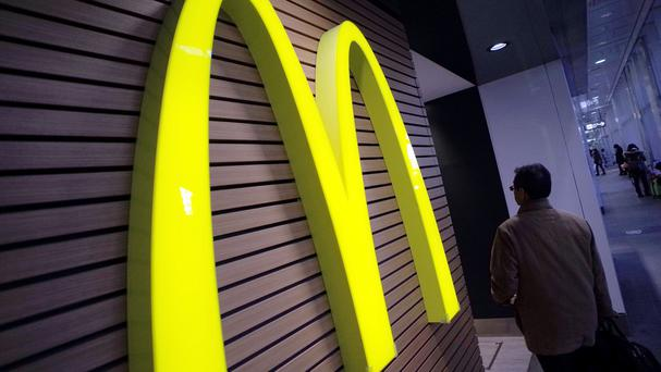 McDonald's reported second quarter profits of 1.2 billion US dollars (£771 billion) (AP)