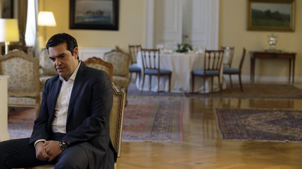 The new bailout was only possible after Alexis Tsipras made a sharp U-turn from years of vehemently opposing further cuts (AP)