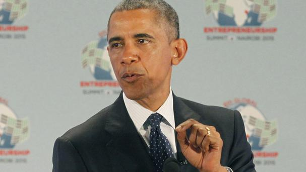 President Barack Obama pressed African nations on gay rights