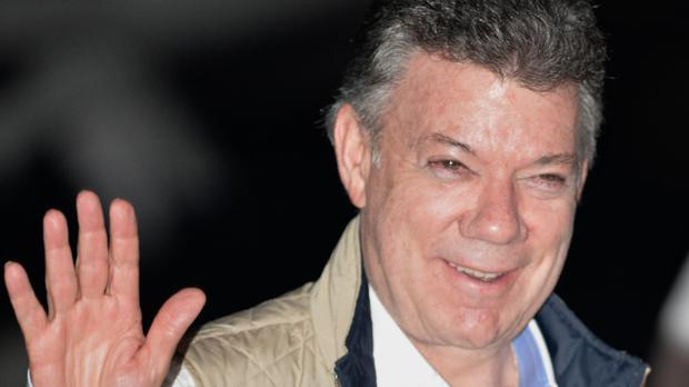 President Juan Manuel Santos made the announcement at a military ceremony in Cartagena
