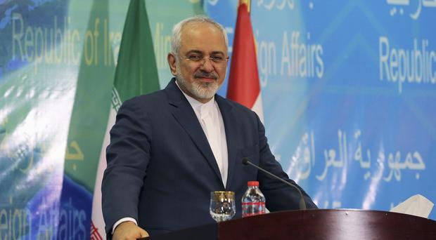 Mohammad Javad Zarif said that talks between Iran and the European Union will start soon (AP)