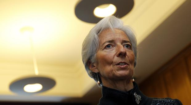 Christine Lagarde described the US as a 'strong' economic performer
