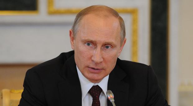 President Vladimir Putin rejected calls for the international criminal court