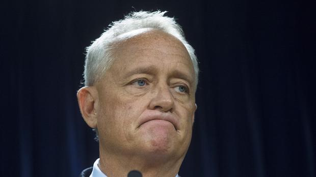 Prosecutor Joseph Deters announced the murder charges (AP)