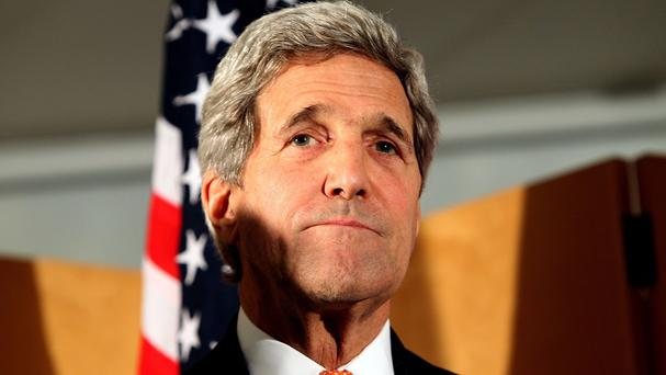 US Secretary of State John Kerry is visiting the Middle East