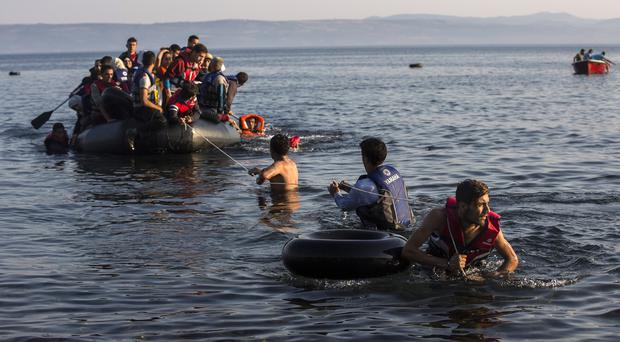 Some of the migrants pulled from boats in the Mediterranean plan to head to Germany (AP)