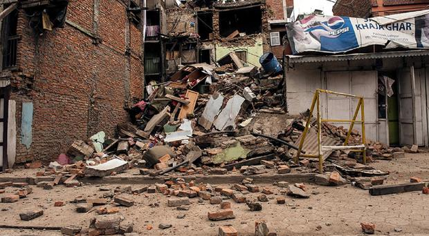 Thje earthquake on April 25 and another one on May 12 killed 8,900 people in Nepal