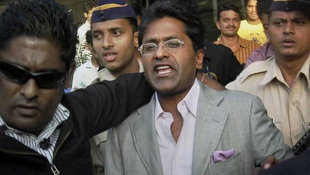 Former Indian Premier League cricket chairman Lalit Modi faces an arrest warrant (AP)