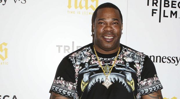 Busta Rhymes was arrested on Wednesday in Manhattan. (AP)