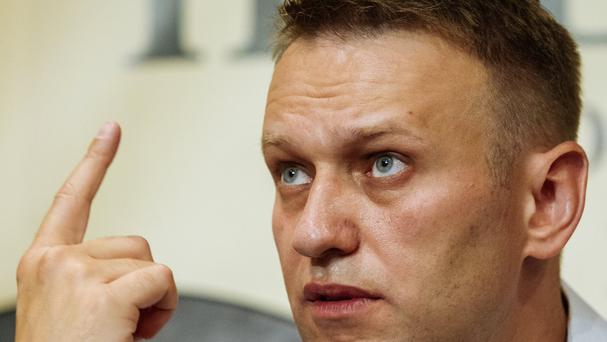 Russian opposition leader Alexei Navalny urged the activists to end their hunger strike. (AP)