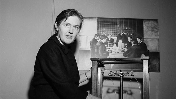 Dr Frances Kelsey pictured in Washington, DC in 1962 (AP)