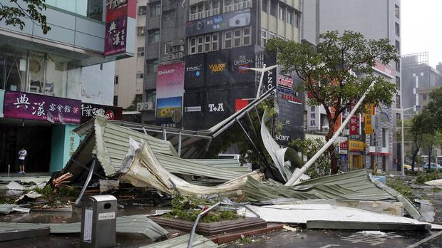 Typhoon Soudelor caused devastation in Taiwan and China