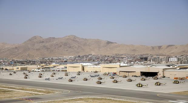 An explosion at Kabul airport is thought to have been caused by a suicide bomb