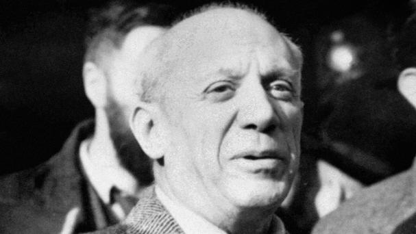 Spanish police have flown to Corsica to retrieve a painting by Pablo Picasso
