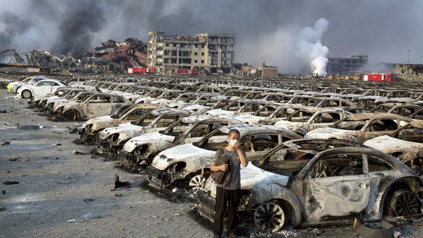 The explosion in the port city of Tianjin saw many people lose loved ones and their homesing