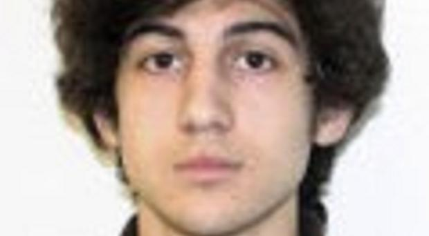 Dzhokhar Tsarnaev was convicted of 30 charges in connection with the 2013 bombing at the Boston Marathon finish line (Federal Bureau of Investigation/AP)
