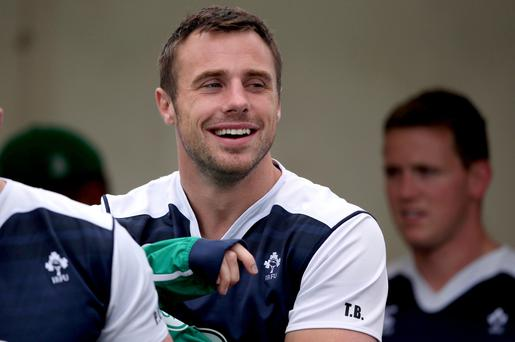 Precaution: Tommy Bowe