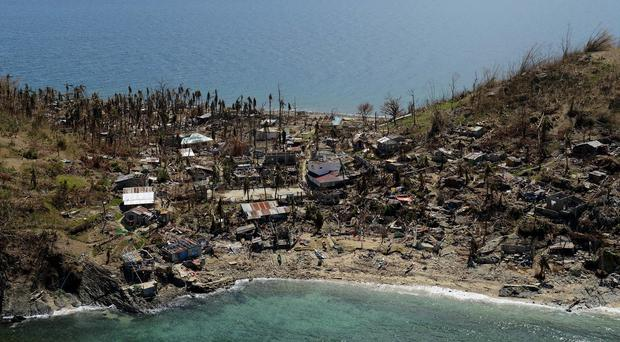 Typhoon Haiyan, one of the most ferocious storms on record, devastated large areas of the central Philippines in 2013