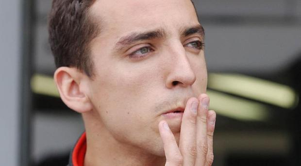 IndyCar driver Justin Wilson was hit by a piece of debris during a race in the US