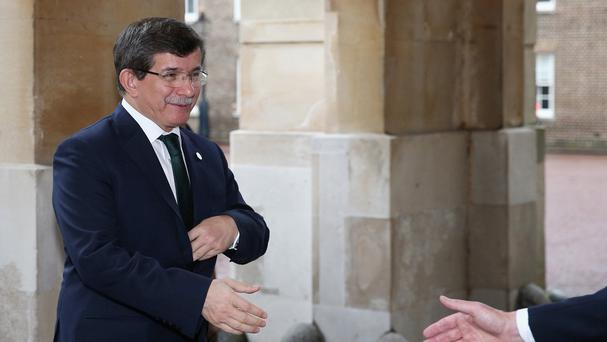 Ahmet Davutoglu has been appointed to form an interim government