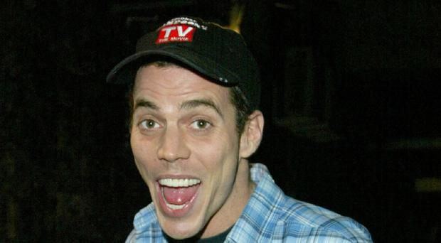 Steve-O is known for his outlandish stunts on Jackass